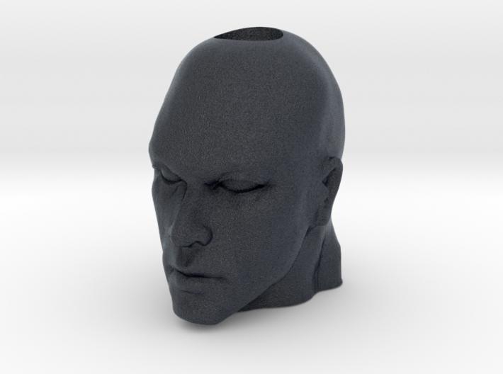 August Head Charm 3d printed