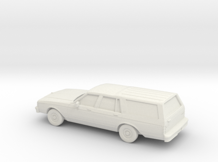 1/72 1982-85 Chevrolet Caprice Classic Station Wag 3d printed