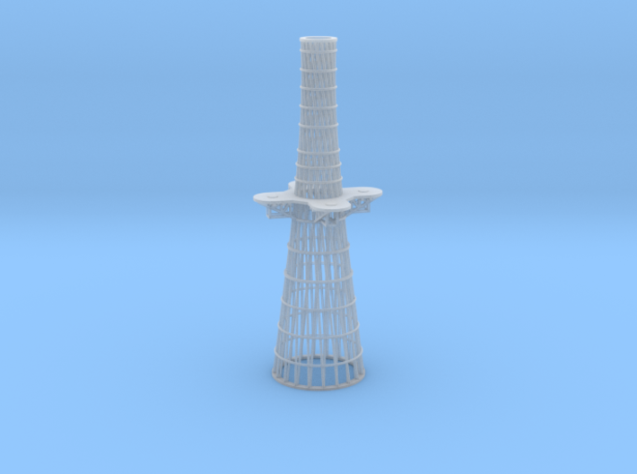 1/350 Tennessee & Colorado class Cage Mainmast 3d printed