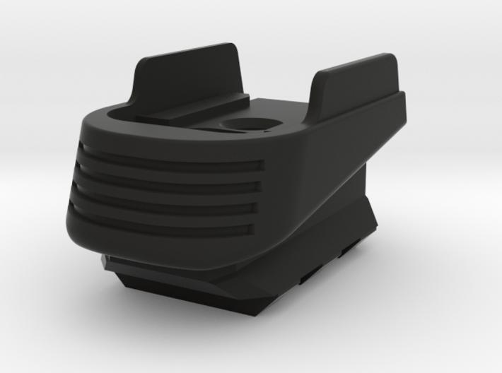 SIG P365 - Medium Extended Base Pad w/Rail 3d printed