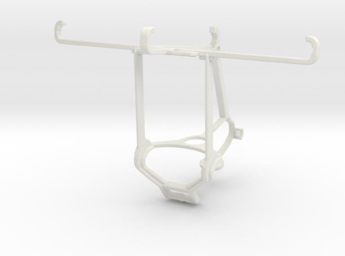 Controller mount for Steam & Meizu m3e - Top 3d printed