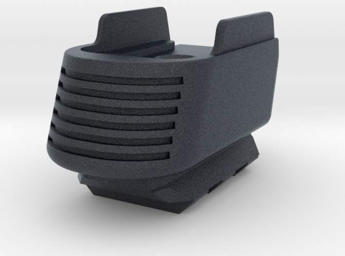 Full Grip Base Pad w/Rail for SIG P365 3d printed