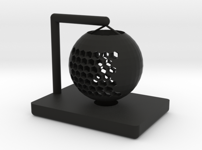 Hollow table lamp shade 3d printed