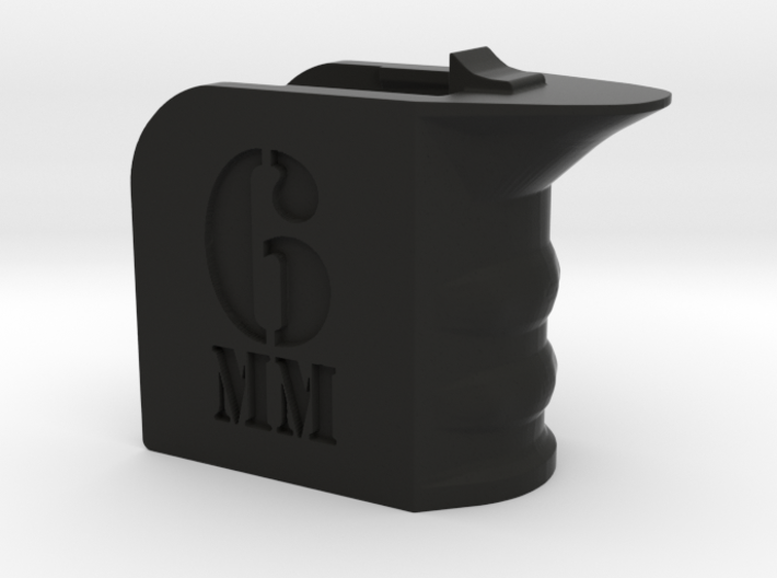 6mm Airsoft Themed Magwell Grip 3d printed