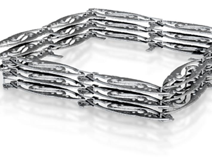 jugendstil necklace Celtic Cross Necklace Pendants 3d printed