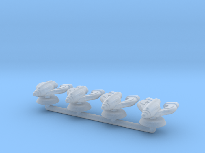 Omega Generic Small Warship Squadron 3d printed