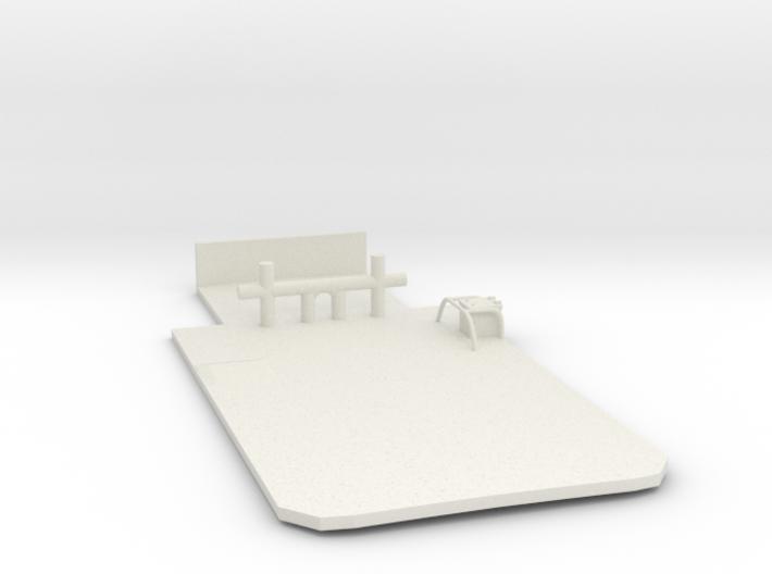 Main Deck Inlay 1/120 V56 01 fits Harbor Tug 3d printed