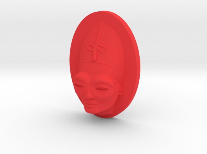 Personalised Womans Head Bug-Eyed Caricature 3d printed