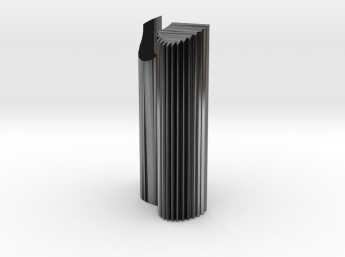 Olympus OM Grip 1 with Vertical Ridges 3d printed