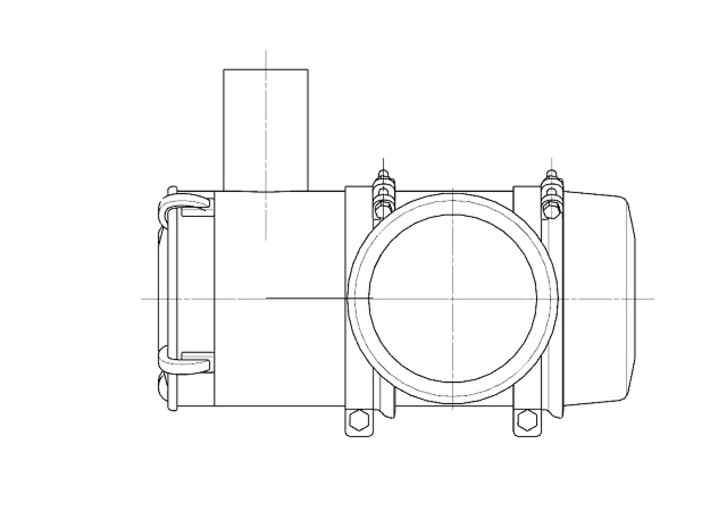 Air-filter-unit-b 3d printed image of air cleaner unit a
