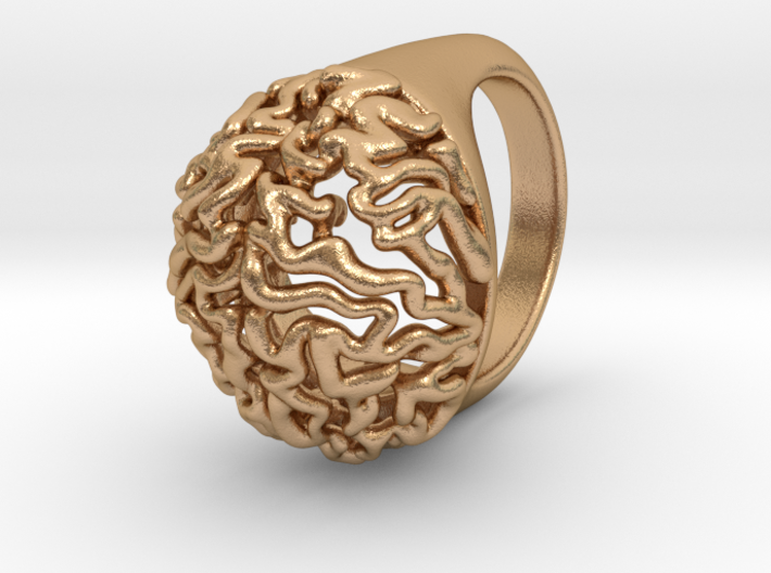 Brain Ring 3d printed
