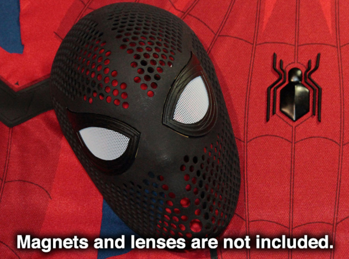 Homecoming Eye Frames – Costume Mask SpideyPlanet 3d printed