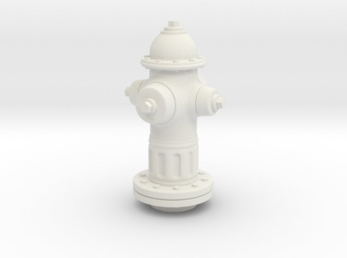 Fire Hydrant 1/20 scale 3d printed
