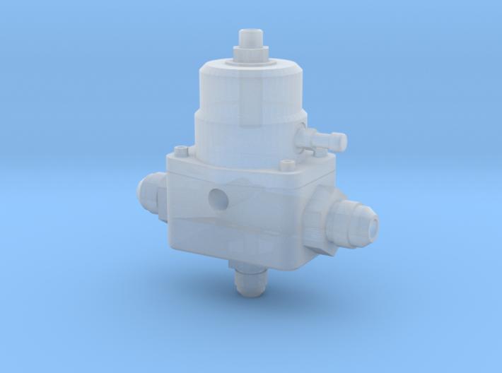 1/8 Scale Aeromotive A1000 Fuel Pressure Regulator 3d printed