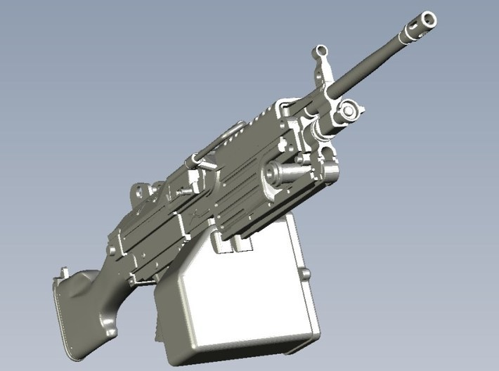 1/9 scale FN Fabrique Nationale M-249 Minimi x 3 3d printed
