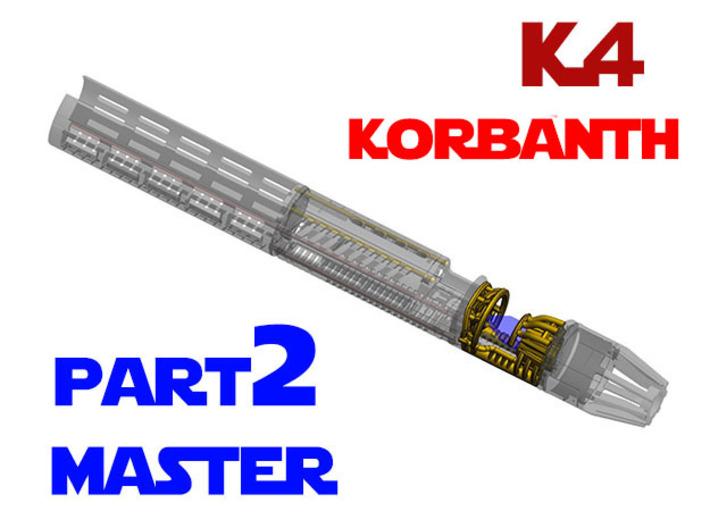 Korbanth / Parks K4 - Master Chassis Part2 3d printed