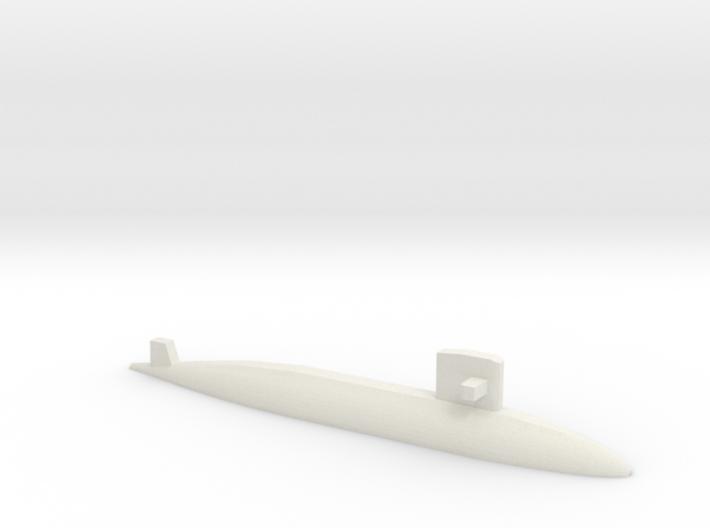 Yūshio-class submarine, 1/2400 3d printed