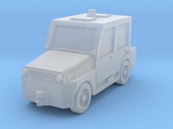 Comet4DK tractor 3d printed