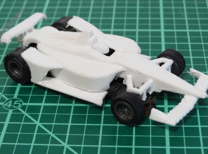 HO 2018 Oval Indy Car 3d printed