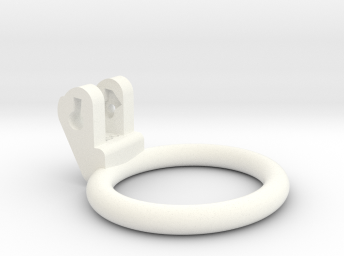 New Fun Cage - Ring - 51x46mm - Wide Oval 3d printed
