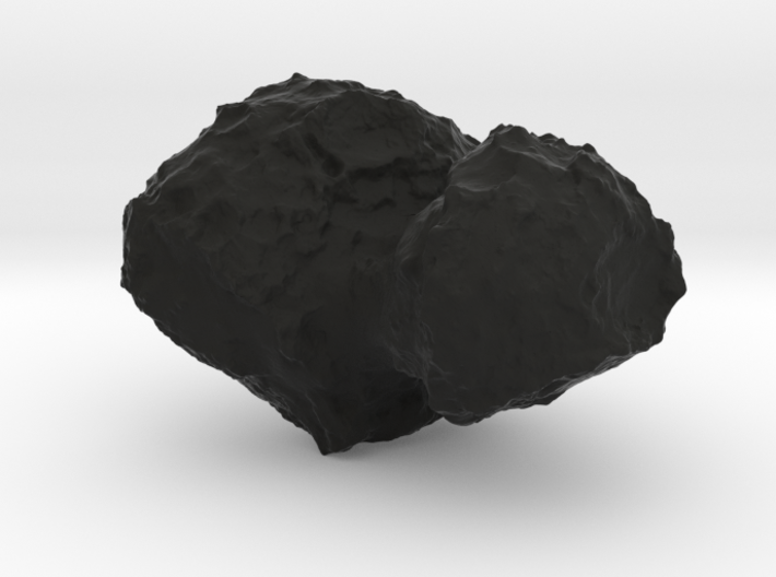 Comet 67P/C-G 1:100,000 scale 3d printed