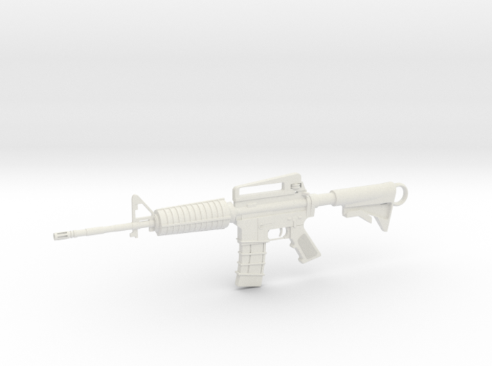 M4A1-S Keychain 3d printed