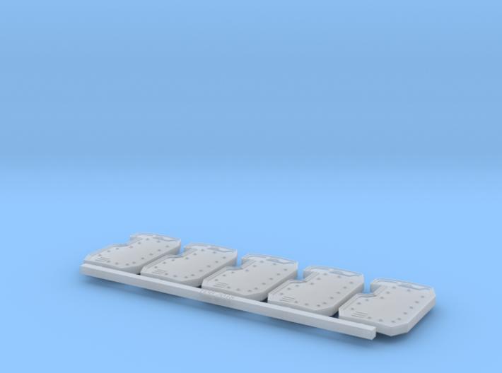 Boarding Shield V4 X5 3d printed