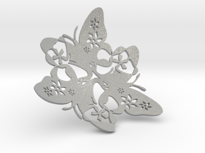Butterfly Bowl 1 - d=16cm 3d printed