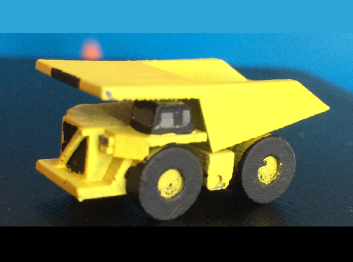 CAT 793F Dump Truck 3d printed After Painting
