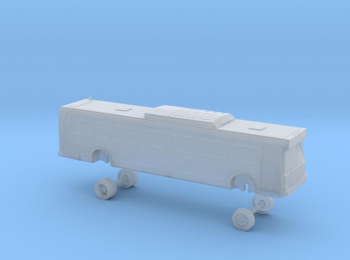 N Scale Bus Flxible Metro D NJT 3700s 3d printed