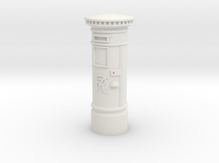 35mm/O Gauge Post Box 3d printed