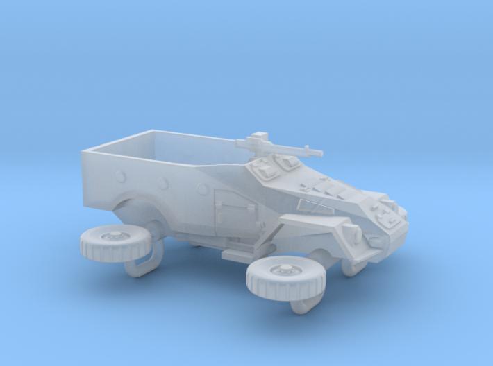 Soviet BTR-40 APC Scale:1:200 3d printed