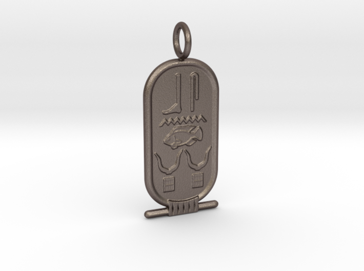 Custom Cartouche SAMPLE 3d printed