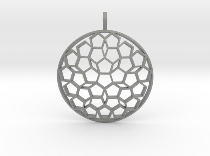 Seal of Venus (Domed) 3d printed
