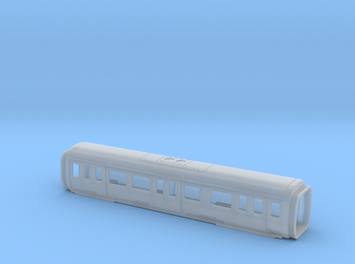 S stock MS Carriage Bodyshell 3d printed