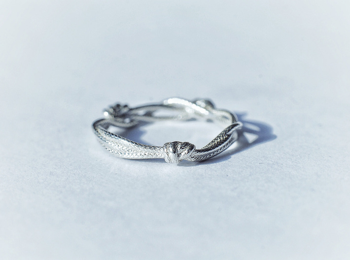 Rope ring 3d printed