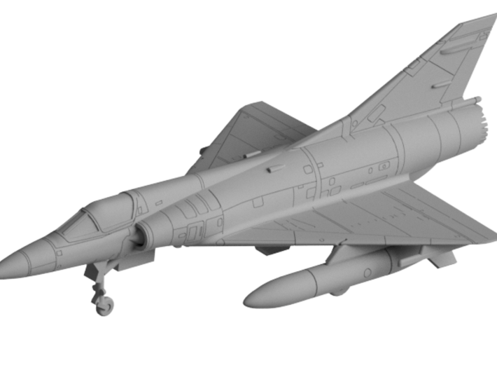 020D Mirage IIIEA 1/144 with Tanks and R530 3d printed