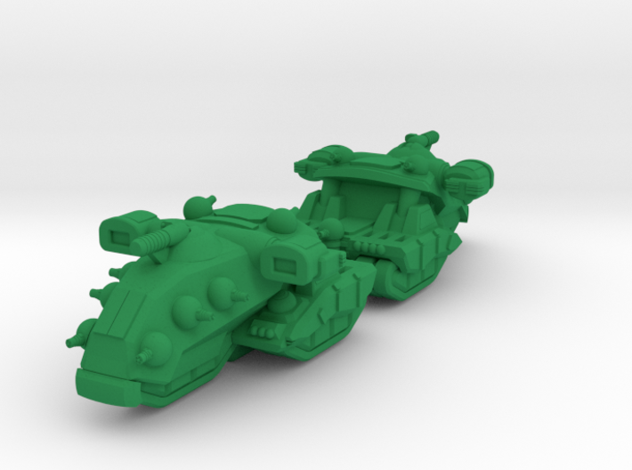 Destrier Heavy Tracked Armor - 3mm 3d printed