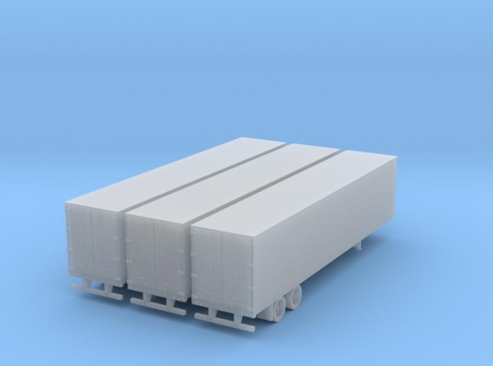 45 ft semi trailer 3 pack 3d printed