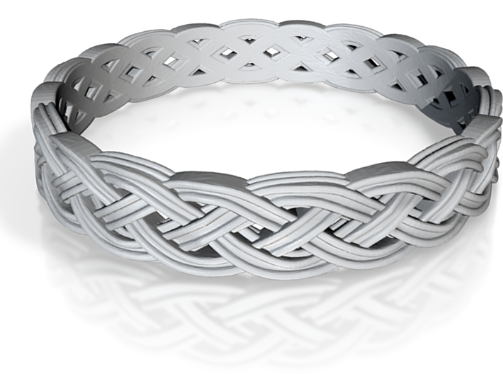 Hieno Delicate Celtic Knot Size 6 3d printed