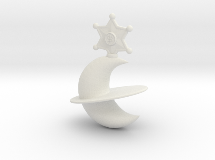 Neptune Lip Rod Replacement Topper 3d printed