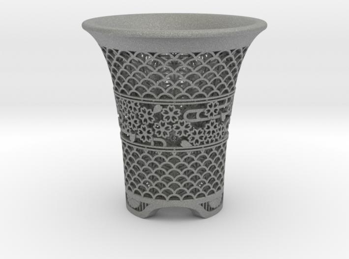"Neo Pot - Model 7 - Size 3.5 (4.1"" OD) 3d printed"