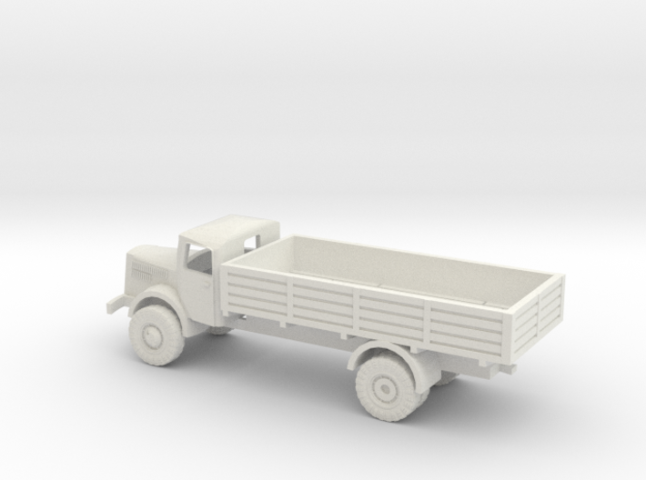 1/144 Mercedes S 4500 truck 3d printed