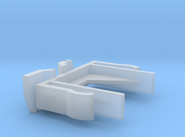 Verticals Valance Clips 007 3d printed
