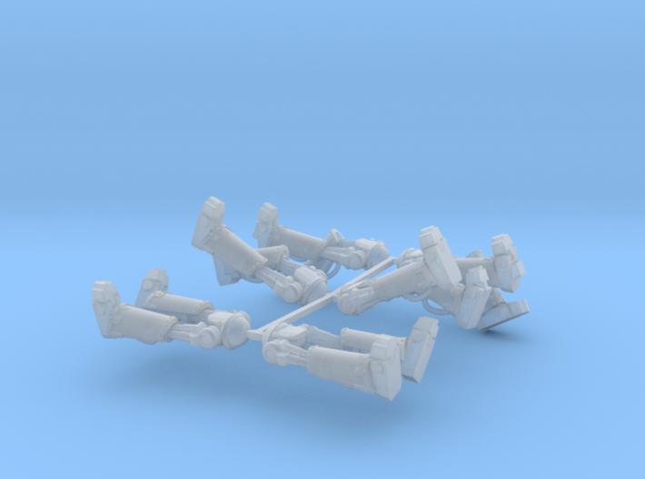 Metal Marine Bionic Legs x6 3d printed