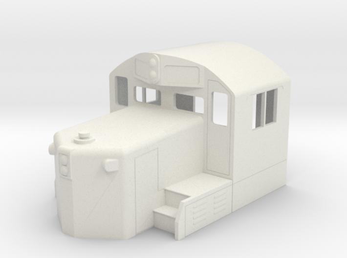 GP20 Cab & Short Hood in S Scale 3d printed
