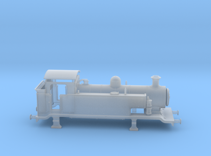 LB&SCR E2 - N-1:148 - EXTENDED TANKS 3d printed