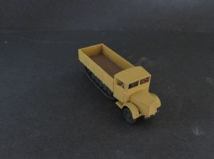 1/144 Mercedes Maultier Wehrmacht truck 3d printed