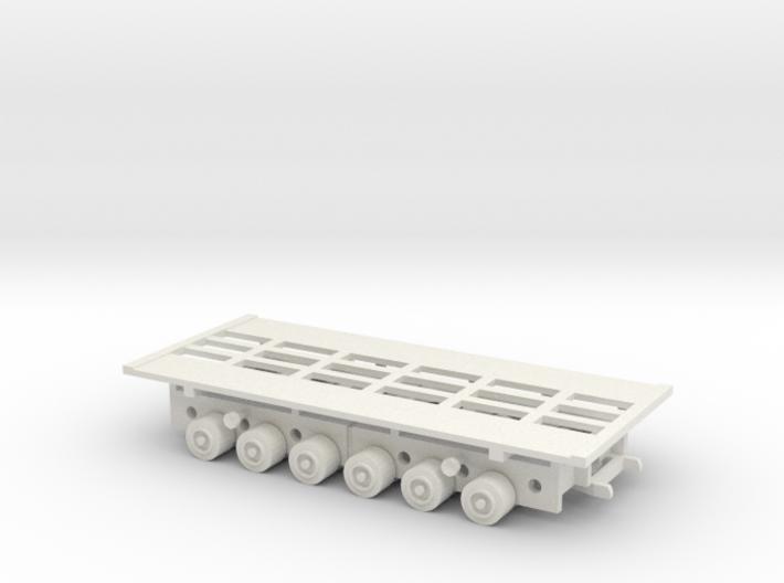 1/144 Culemeyer tank transporter for heavy tanks 3d printed