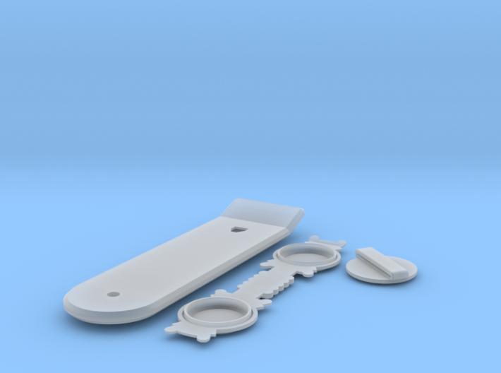 BACK FUTURE 1/8 EAGLEMOS HOVER BOARD 3d printed